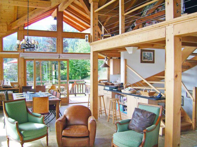 Holiday in mountain resort 7 room chalet 10 people (1) - L'Epachat - Saint Gervais - Summer outside