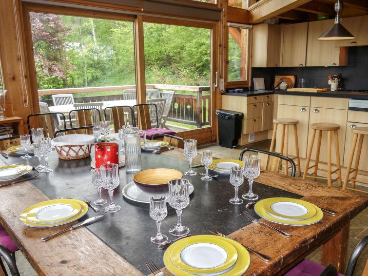 Holiday in mountain resort 7 room chalet 10 people (1) - L'Epachat - Saint Gervais - Accommodation