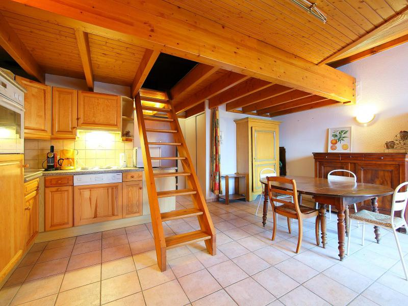 Holiday in mountain resort 1 room apartment 4 people (14) - L'Espace Montagne - Chamonix - Accommodation