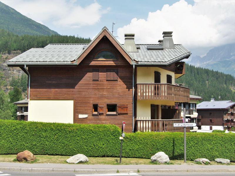 Vakantie in de bergen Appartement 3 kamers 4 personen (1) - L'Hermine - Les Houches - Buiten zomer