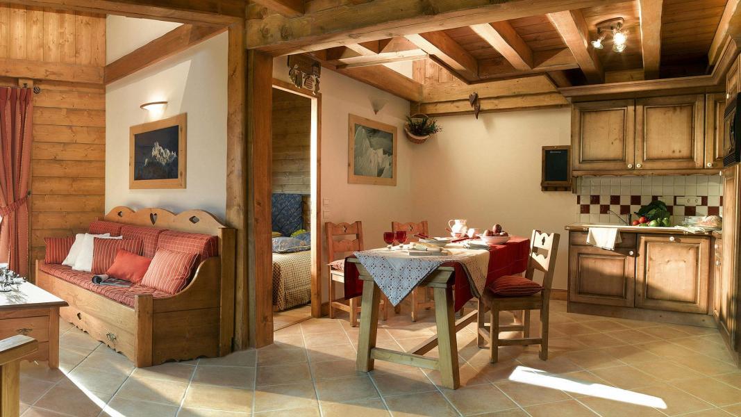 Urlaub in den Bergen L'Orée des Cimes - Peisey-Vallandry - Esszimmer