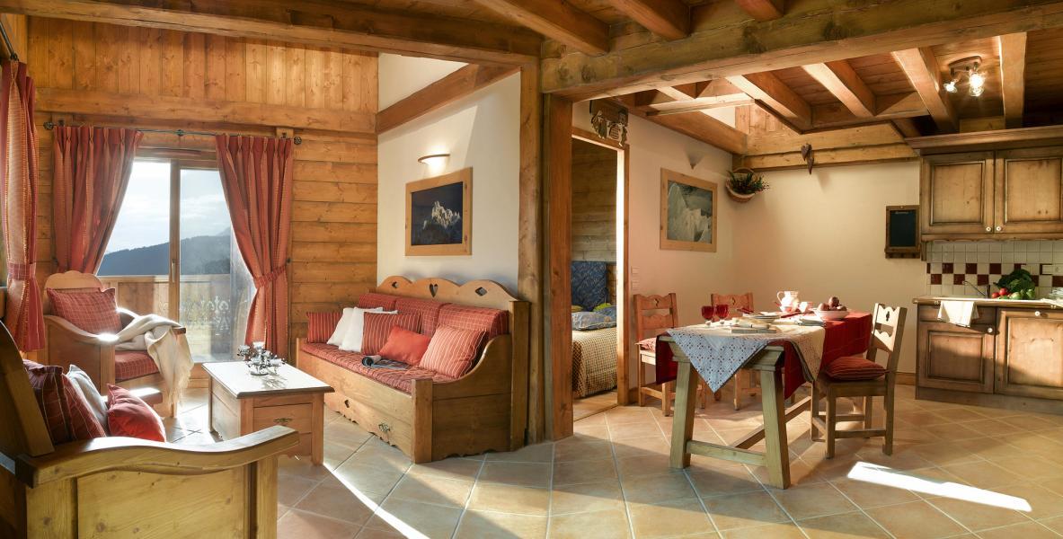Urlaub in den Bergen L'Orée des Cimes - Peisey-Vallandry - Wohnzimmer