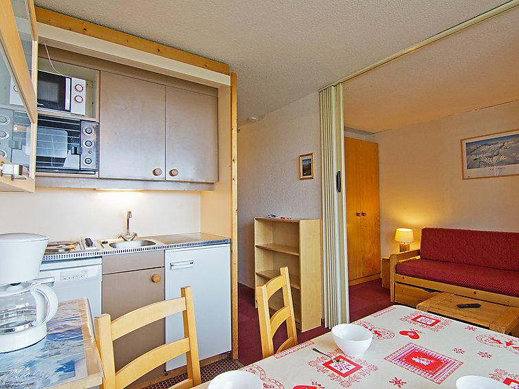 Holiday in mountain resort 2 room apartment 4 people (2) - L'Orsière - Val Thorens - Accommodation