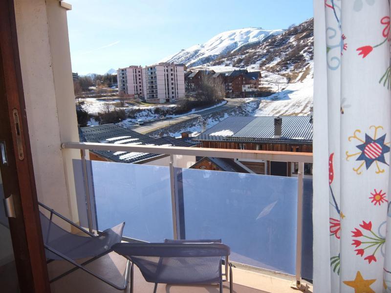 Vacaciones en montaña Apartamento 1 piezas para 4 personas (1) - L'Ouillon - La Toussuire
