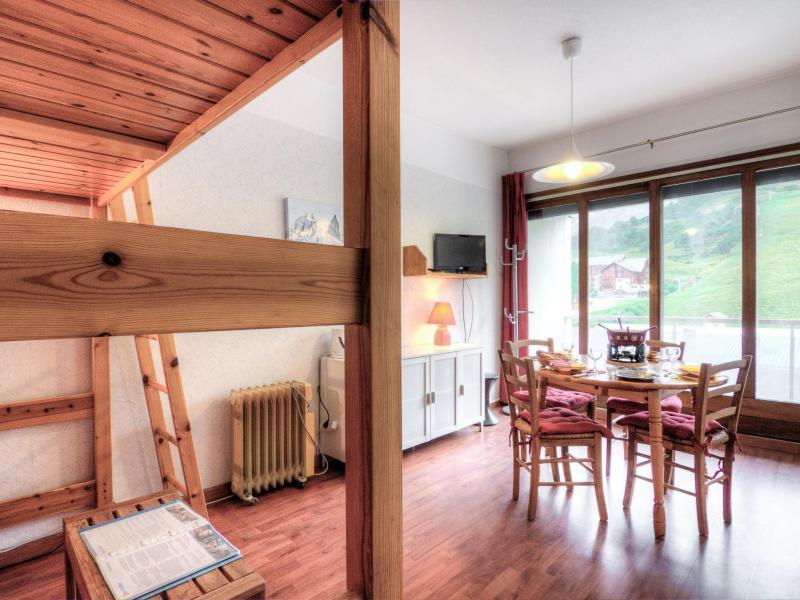 Vacaciones en montaña Apartamento 1 piezas para 4 personas (1) - L'Ouillon - La Toussuire - Alojamiento