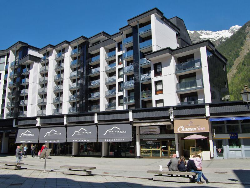 Vakantie in de bergen Appartement 2 kamers 4 personen (1) - L'Outa - Chamonix - Buiten zomer