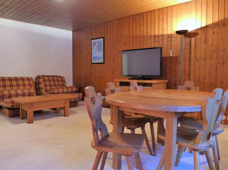 Vakantie in de bergen Appartement 2 kamers 4 personen (1) - L'Outa - Chamonix - Verblijf