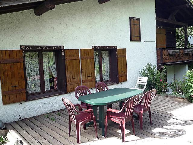 Location au ski Chalet 6 pièces 12 personnes (1) - L'Piri - Chamonix - Extérieur été