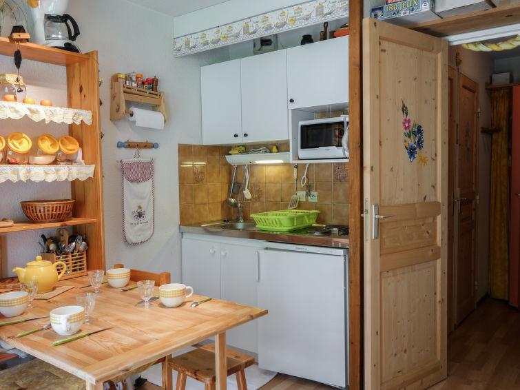 Holiday in mountain resort 1 room apartment 4 people (11) - La Borgia A, B, C - Les Contamines-Montjoie - Accommodation