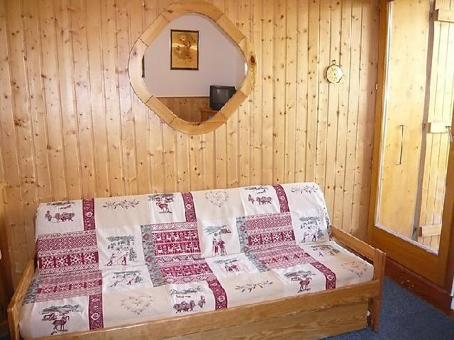 Holiday in mountain resort 2 room apartment cabin 6 people (6) - La Divaria - Tignes - Settee