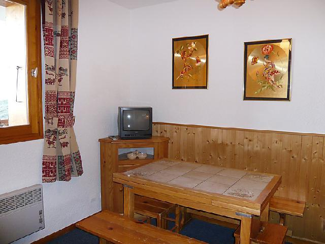 Holiday in mountain resort 2 room apartment cabin 6 people (6) - La Divaria - Tignes - TV