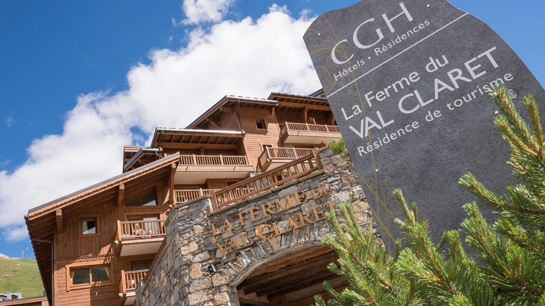 Location au ski La Ferme du Val Claret - Tignes - Extérieur été