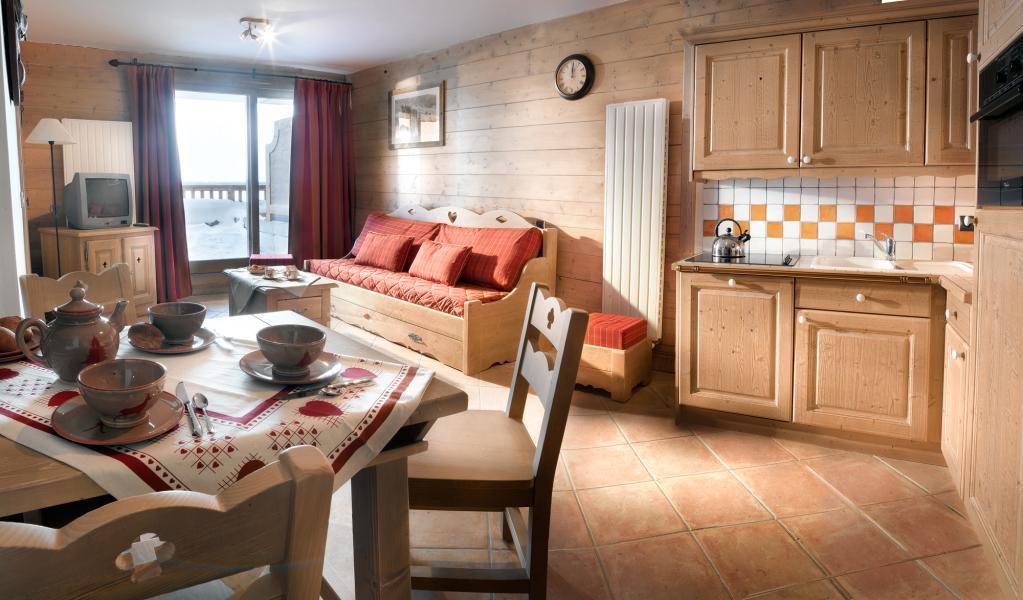 Urlaub in den Bergen La Ferme du Val Claret - Tignes - Wohnzimmer