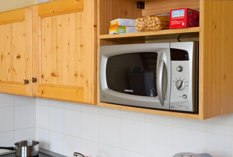 Holiday in mountain resort La Fontaine du Roi - Saint Jean d'Arves - Oven / microwave