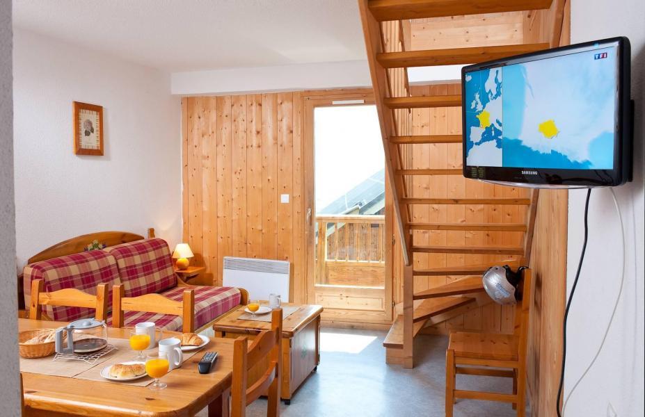 Urlaub in den Bergen La Fontaine du Roi - Saint Jean d'Arves - Wohnzimmer