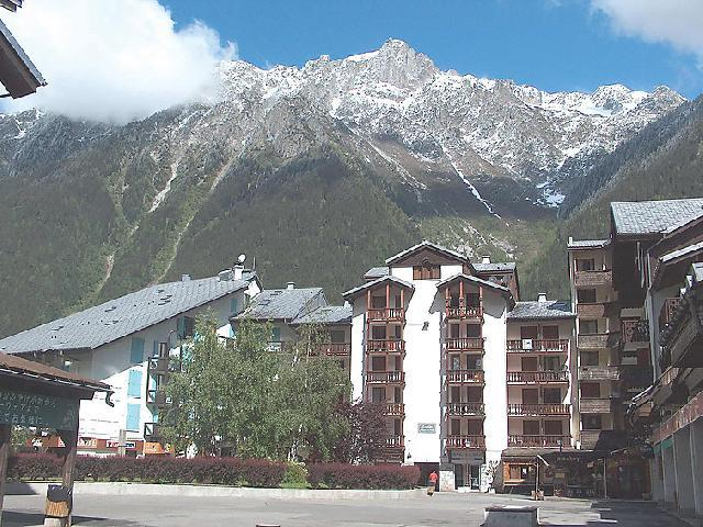 Holiday in mountain resort 1 room apartment 4 people (5) - La Forclaz - Chamonix - Summer outside