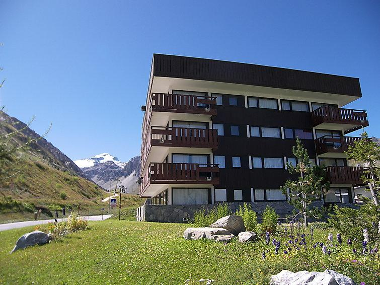 Holiday in mountain resort La Grande Casse - Tignes - Summer outside