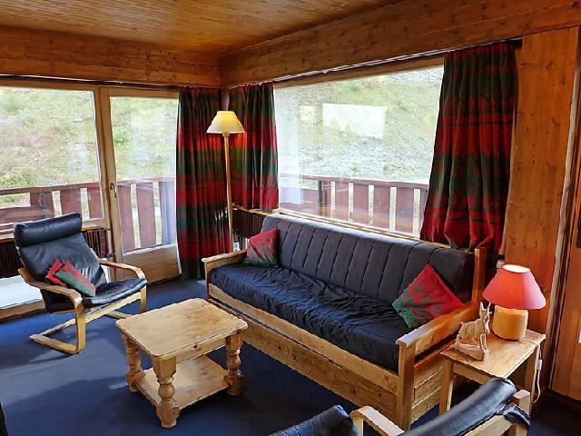 Vakantie in de bergen Appartement 2 kamers 4 personen (3) - La Grande Casse - Tignes - Woonkamer