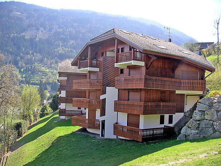 Holiday in mountain resort 2 room apartment 4 people (2) - La Piste - Saint Gervais - Summer outside