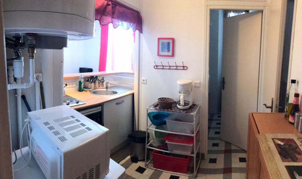 Urlaub in den Bergen Studio Kabine für 5 Personen (1) - La Résidence - Saint Gervais