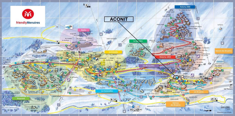 Vacaciones en montaña La Résidence Aconit - Les Menuires