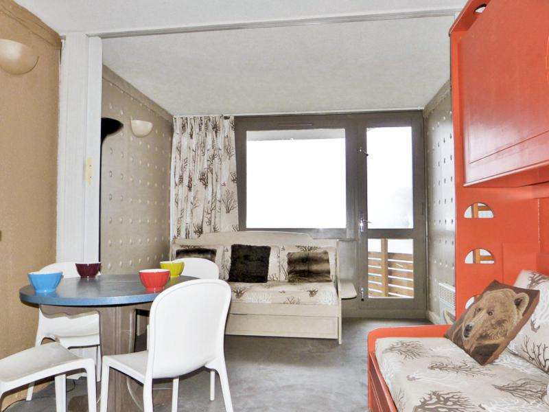 Holiday in mountain resort Divisible studio 4 people (J150) - La Résidence Aime 2000 - le Zodiac - La Plagne - Living room