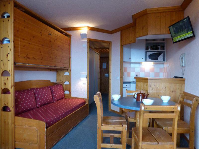 Holiday in mountain resort Divisible studio 4 people (K151) - La Résidence Aime 2000 - le Zodiac - La Plagne - Living room