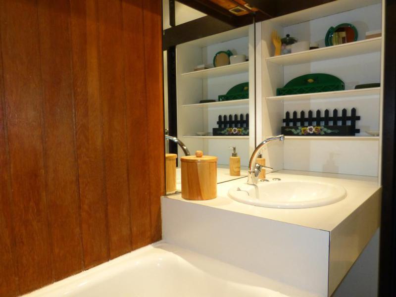 Holiday in mountain resort Studio 4 people (H42) - La Résidence Aime 2000 - le Zodiac - La Plagne - Bathroom