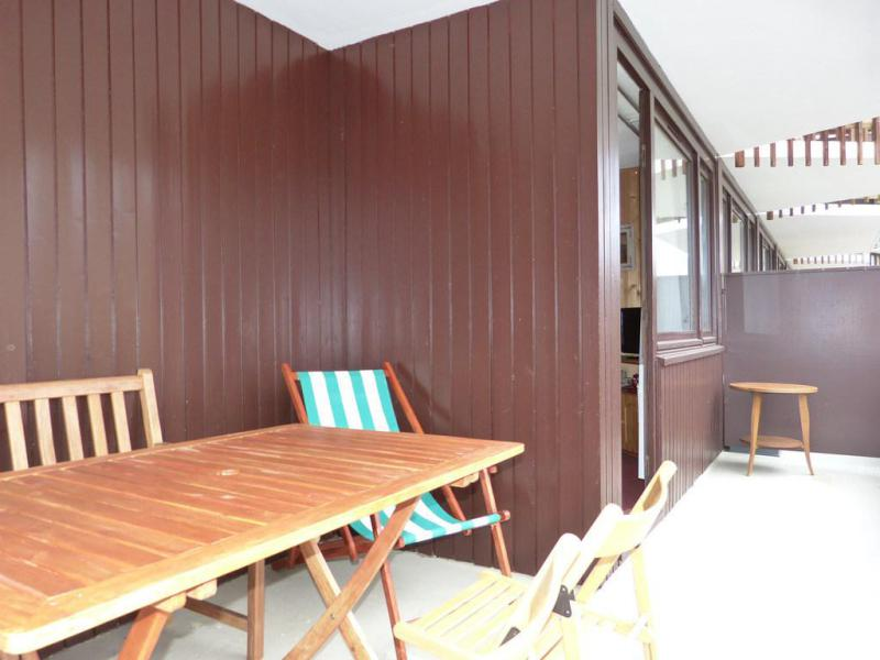 Holiday in mountain resort Studio 4 people (H42) - La Résidence Aime 2000 - le Zodiac - La Plagne - Terrace