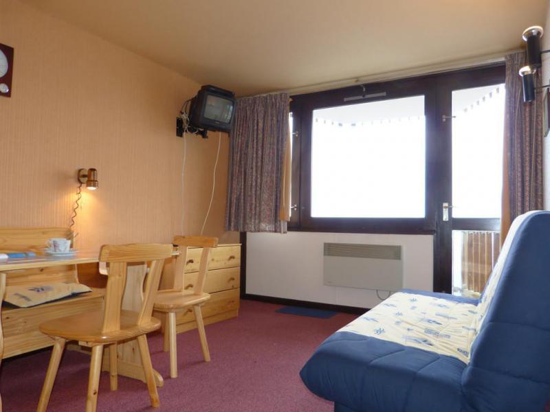Holiday in mountain resort Studio sleeping corner 4 people (I143) - La Résidence Aime 2000 - le Zodiac - La Plagne - Living room