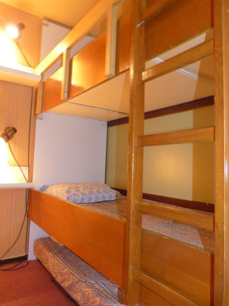 Holiday in mountain resort Studio sleeping corner 4 people (I143) - La Résidence Aime 2000 - le Zodiac - La Plagne - Sleeping area