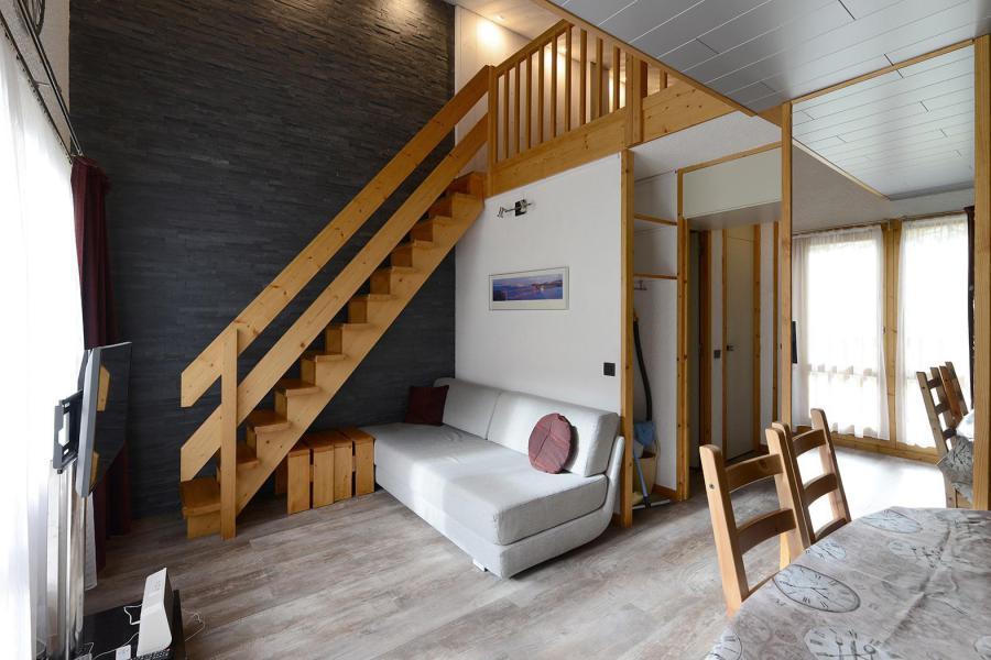 Holiday in mountain resort Studio cabin mezzanine 5 people (84) - La Résidence Améthyste - La Plagne