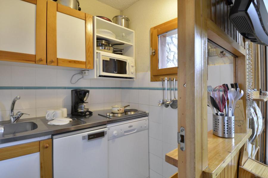 Holiday in mountain resort Studio 4 people (43) - La Résidence Améthyste - La Plagne - Kitchen