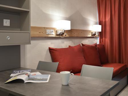 Holiday in mountain resort Studio cabin 4 people (113) - La Résidence Andromède - La Plagne