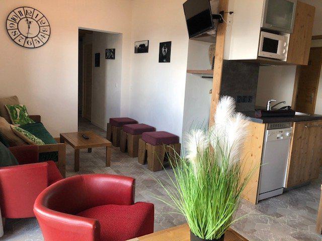 Wakacje w górach Apartament 4 pokojowy 10 osób (483) - La Résidence Antarès - Risoul