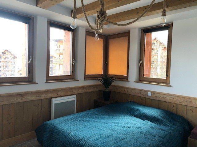 Wakacje w górach Apartament 4 pokojowy 10 osób (483) - La Résidence Antarès - Risoul - Łóżkem małżeńskim