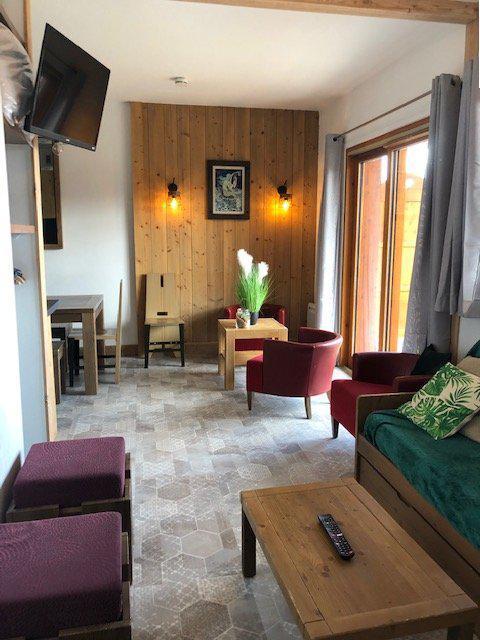 Wakacje w górach Apartament 4 pokojowy 10 osób (483) - La Résidence Antarès - Risoul - Pokój gościnny