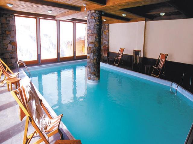 Vacances en montagne Appartement 3 pièces 7 personnes (302) - La Résidence Aspen - La Plagne - Piscine