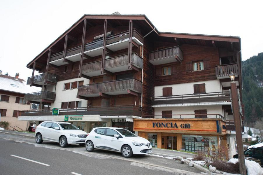 Wakacje w górach Studio z alkową 4 osoby (1B) - La Résidence Bellachat - Le Grand Bornand - Na zewnątrz latem