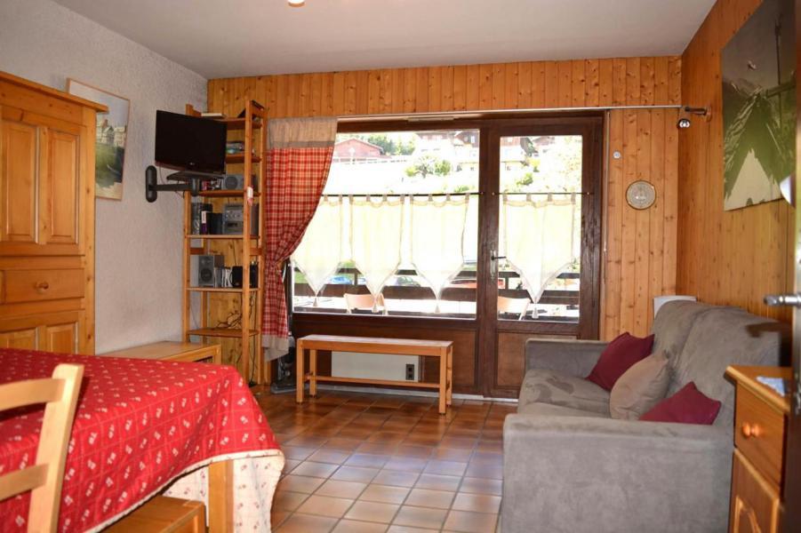 Wakacje w górach Studio z alkową 4 osoby (1B) - La Résidence Bellachat - Le Grand Bornand - Pokój gościnny