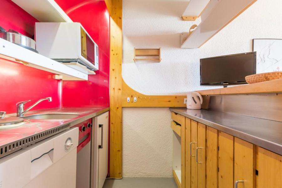 Vakantie in de bergen Appartement 2 kamers 5 personen (501) - La Résidence Bequi Rouge - Les Arcs