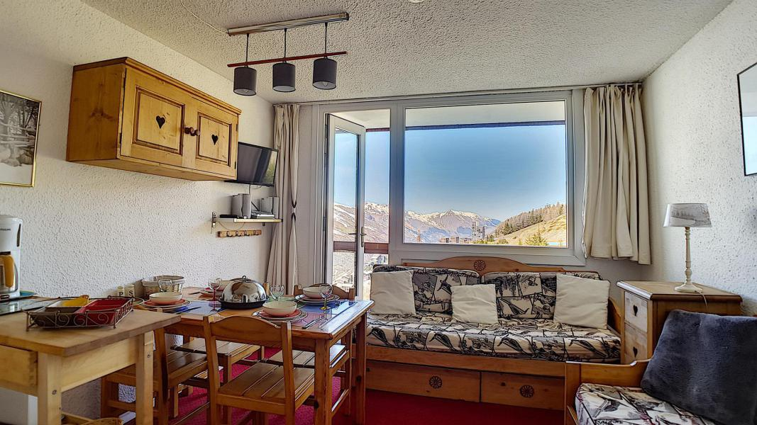 Holiday in mountain resort 2 room duplex apartment 4 people (807) - La Résidence Boëdette - Les Menuires