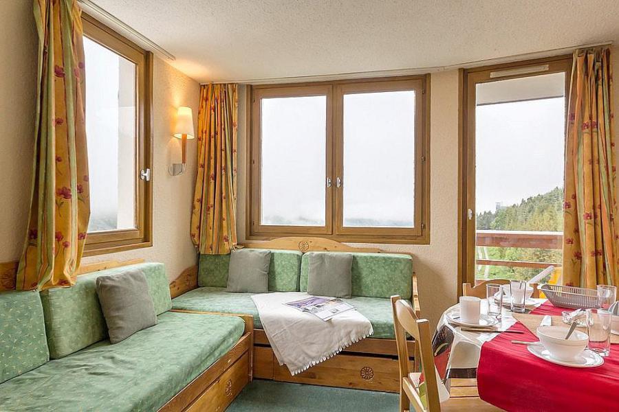 Holiday in mountain resort Studio sleeping corner 4 people (313) - La Résidence Boëdette - Les Menuires - Living room