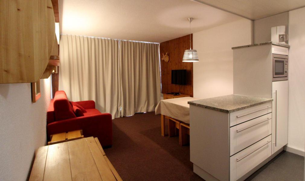 Wakacje w górach Studio z alkową 4 osoby (14CL) - La résidence Borsat - Tignes - Łóżkami piętrowymi
