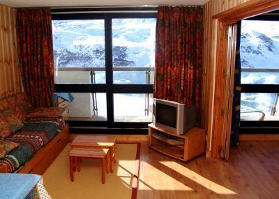 Vacances en montagne Appartement 3 pièces 8 personnes - La Résidence Brelin - Les Menuires - Tv