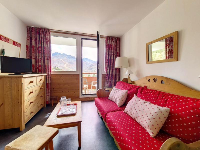 Wakacje w górach Apartament 2 pokojowy 6 osób (509) - La Résidence Burons - Les Menuires - Tapczanem