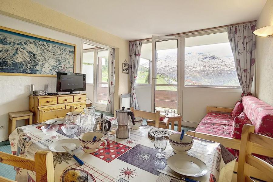Vacaciones en montaña Apartamento 3 piezas para 6 personas (607) - La Résidence Burons - Les Menuires - Estancia