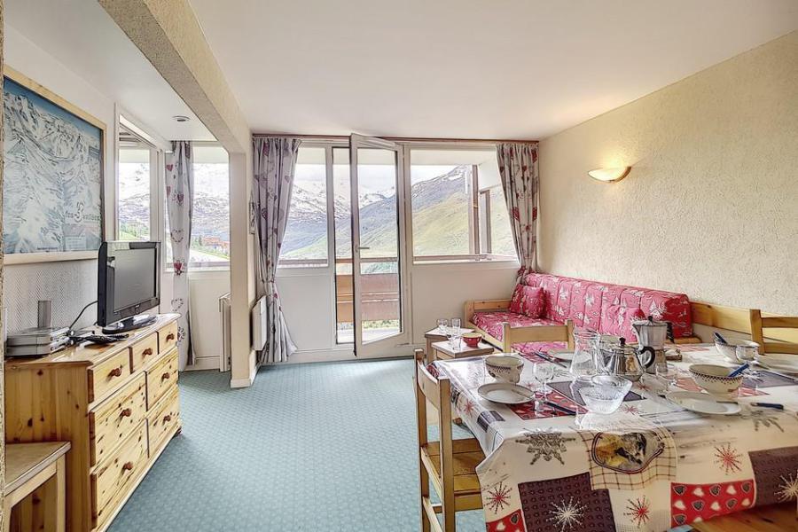 Vacaciones en montaña Apartamento 3 piezas para 6 personas (607) - La Résidence Burons - Les Menuires - Habitación