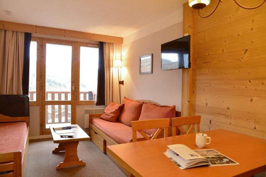 Holiday in mountain resort Studio cabin 4 people (405) - La Résidence Callisto - La Plagne - Living room