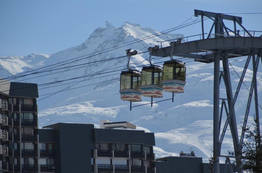 Location au ski La Residence Caron - Les Menuires - Extérieur été